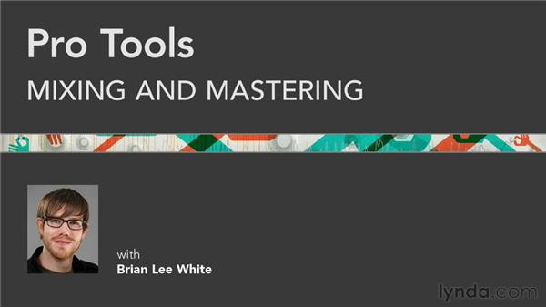 Thank you and goodbye: Pro Tools Mixing and Mastering