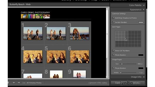 Welcome: Lightroom 4 Essentials: 04 Creating Slideshows and Web Galleries