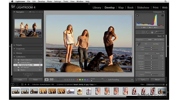 Creating collections of virtual copies: Lightroom 4 Essentials: 04 Creating Slideshows and Web Galleries