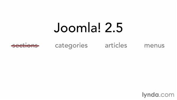Creating content in Joomla!: Joomla! 2.5 Essential Training