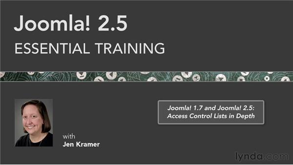 Goodbye: Joomla! 2.5 Essential Training