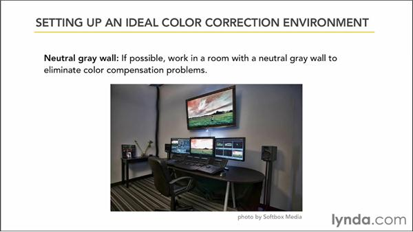 Setting up an ideal color correction environment: Color Correction: Creating a Polished Look in Avid Media Composer