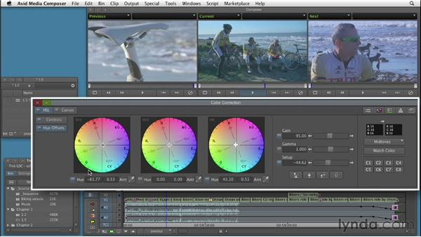 Touring the Media Composer color correction toolset: Color Correction: Creating a Polished Look in Avid Media Composer