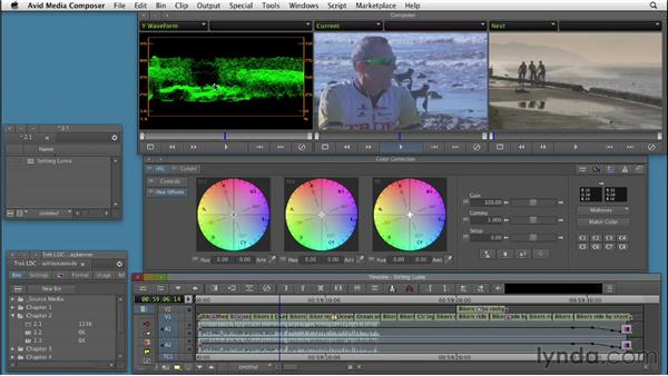 Setting accurate whites and blacks: Color Correction: Creating a Polished Look in Avid Media Composer
