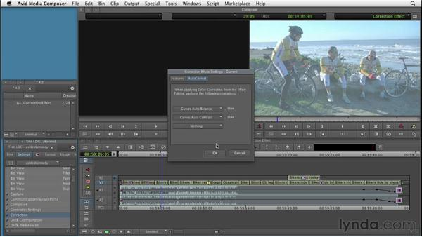 Using the Color Correction effect: Color Correction: Creating a Polished Look in Avid Media Composer