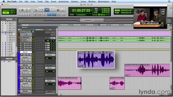 Leveraging clip-based gain in Pro Tools 10: Audio for Film and Video with Pro Tools
