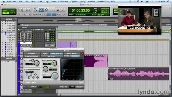 Exploring AudioSuite enhancements in Pro Tools 10: Audio for Film and Video with Pro Tools