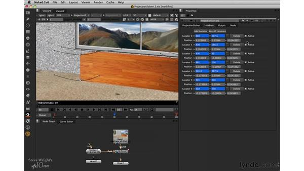 Doing the camera solve: Nuke 6.3 New Features