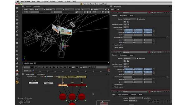 Creating 3D cards: Nuke 6.3 New Features
