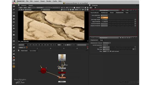 Working with the ScanLineRender settings: Nuke 6.3 New Features