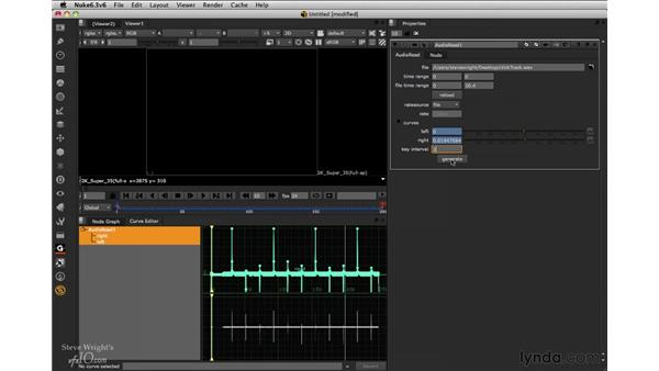 Using the AudioRead node: Nuke 6.3 New Features