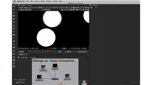 Deep compositing briefing: Nuke 6.3 New Features
