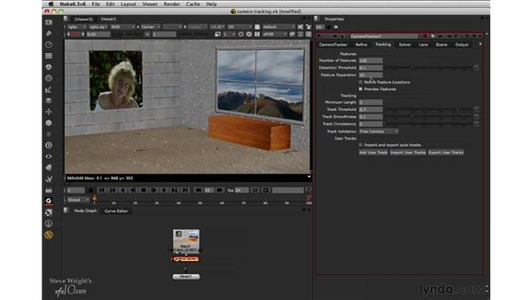 Tracking the scene: Nuke 6.3 New Features