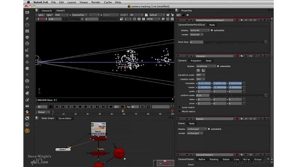Building the 3D scene: Nuke 6.3 New Features