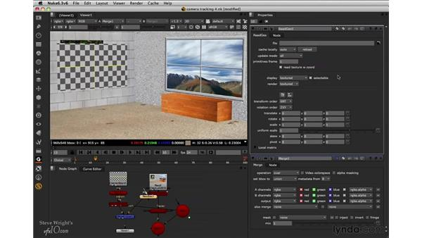 Adding 3D geometry: Nuke 6.3 New Features