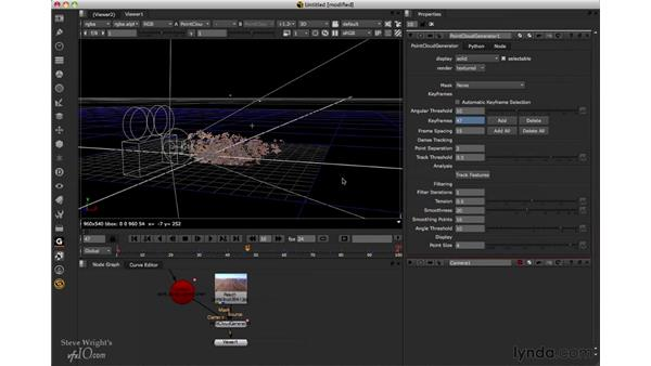 Filtering the point cloud: Nuke 6.3 New Features