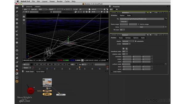 Exporting Modeler geometry: Nuke 6.3 New Features