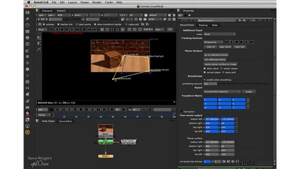 Tracking out-of-frame targets: Nuke 6.3 New Features