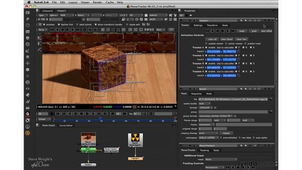 Exporting: Tracker node: Nuke 6.3 New Features