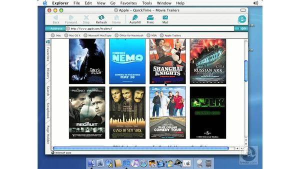 downloading multimedia files: Learning Mac OS X 10.2 Jaguar