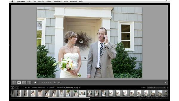 Selecting photos for a slideshow: Lightroom Workflow Strategies
