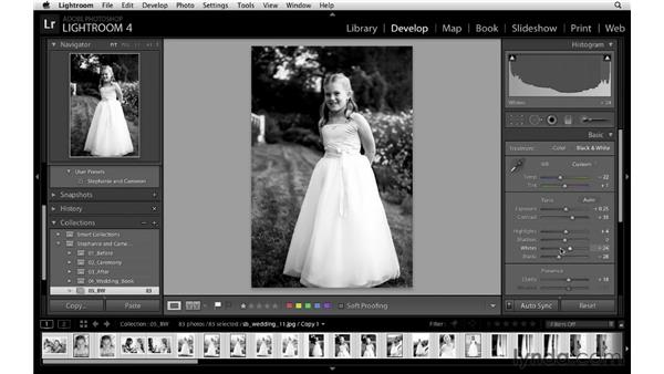 Batch processing color and black-and-white images: Lightroom Workflow Strategies