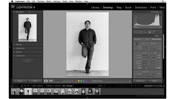 Processing the images: Lightroom Workflow Strategies