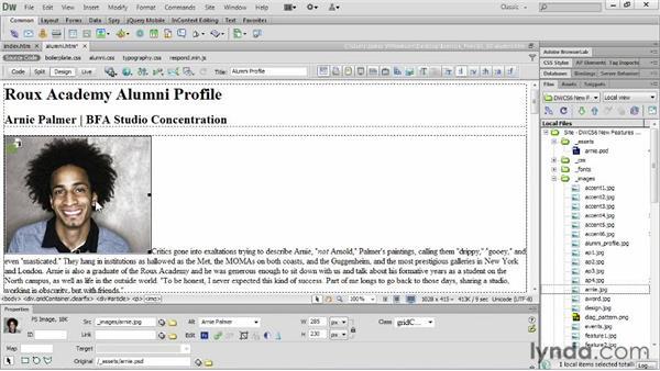 Exploring image-optimization workflows: Dreamweaver CS6 New Features