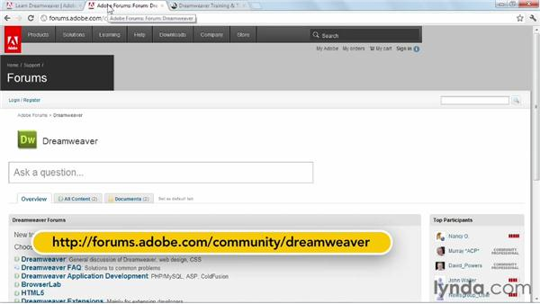 Where to go from here: Dreamweaver CS6 New Features