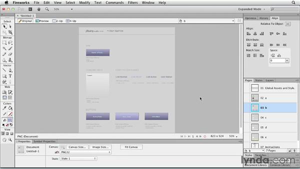 Creating a jQuery Mobile template in Fireworks: Fireworks CS6 New Features