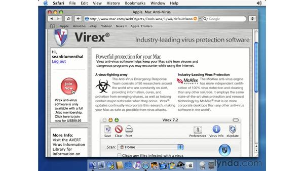 anti-virus: Learning Mac OS X 10.2 Jaguar
