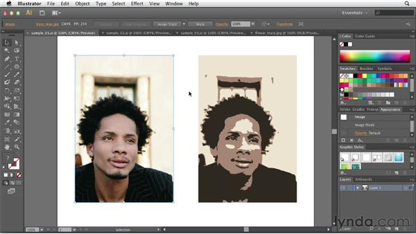 Overview of image tracing: Illustrator CS6 New Features