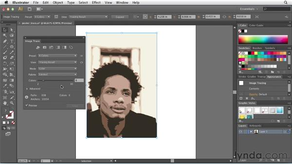 Using built-in tracing presets: Illustrator CS6 New Features