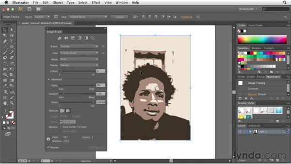 Converting pixels to paths: Illustrator CS6 New Features