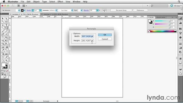 Reviewing updates to units of measurement: Illustrator CS6 New Features