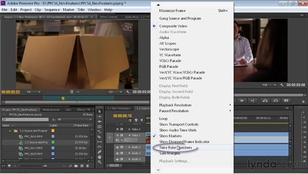 Customizing the Source and Program Monitors: Premiere Pro CS6 New Features