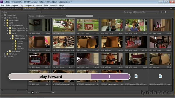 Looking at the redesigned Media Browser: Premiere Pro CS6 New Features