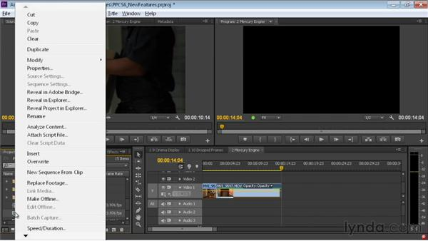 Exporting to Premiere Pro from Prelude: Premiere Pro CS6 New Features