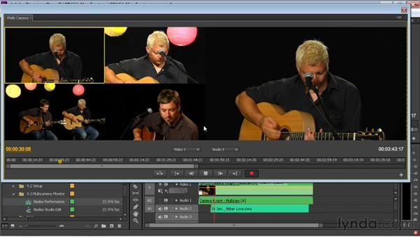 Cutting a multi-camera sequence: Premiere Pro CS6 New Features