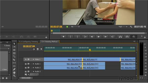 Selecting an edit: Premiere Pro CS6 New Features