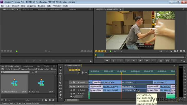 Trimming in the Timeline: Premiere Pro CS6 New Features