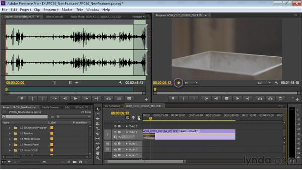 Reviewing improvements in RED footage support: Premiere Pro CS6 New Features