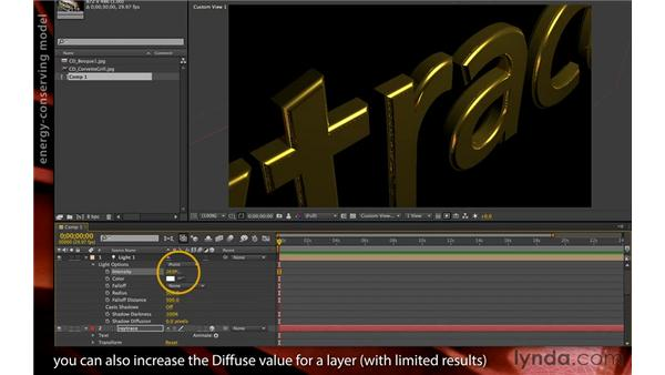 Adding reflections: After Effects CS6 New Features
