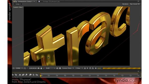 Considering quality versus speed: After Effects CS6 New Features
