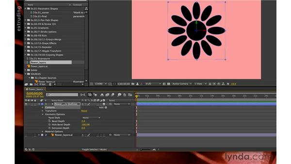 Creating shapes from a vector layer: After Effects CS6 New Features