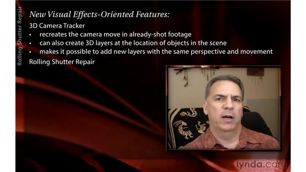 Introducing visual effects features: After Effects CS6 New Features