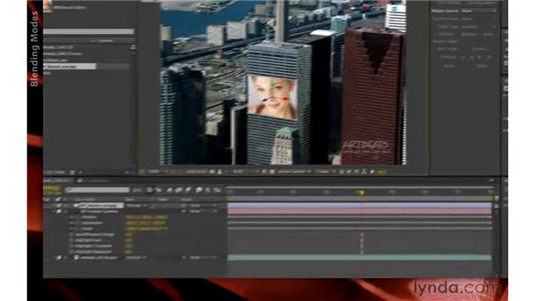 Compositing footage into the tracked scene: After Effects CS6 New Features