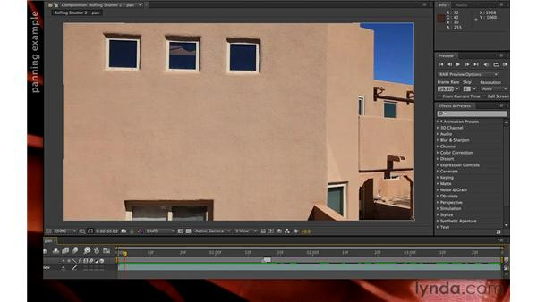 Exploring the Rolling Shutter Repair effect: After Effects CS6 New Features