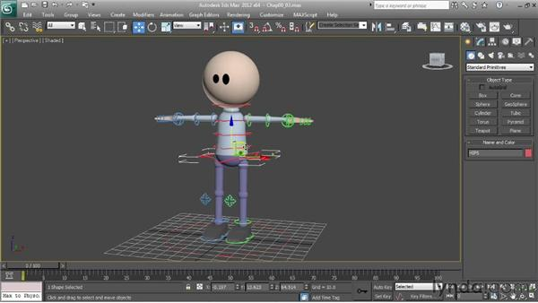 Character rig overview: a simple character: Character Animation: 3ds Max