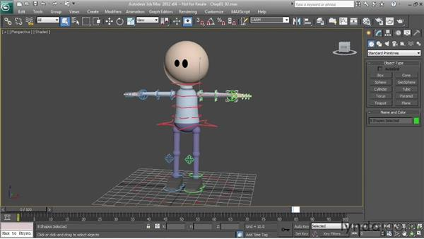 Using Selection Sets to help pose characters: Character Animation: 3ds Max